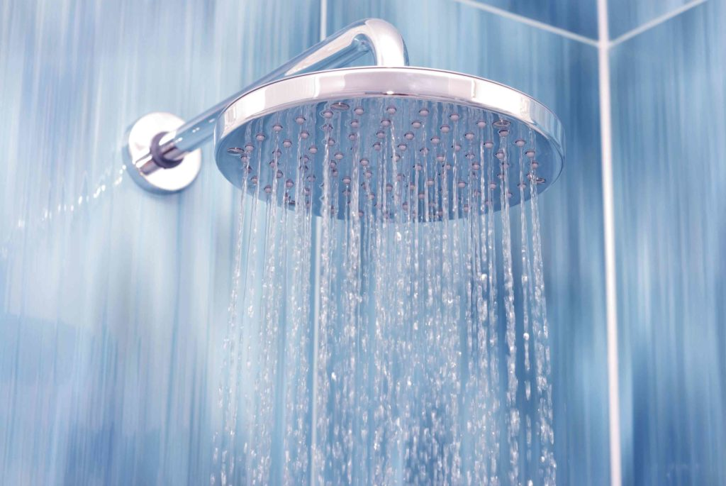 Shower Water - Water Restrictions